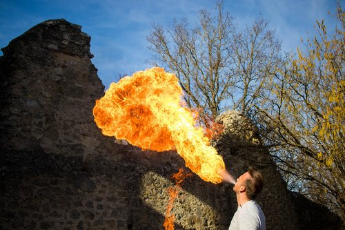 fire haunt  fire  flamen
