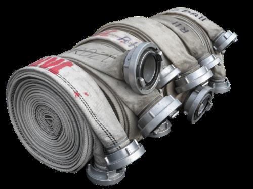 fire hose b-hose isolated