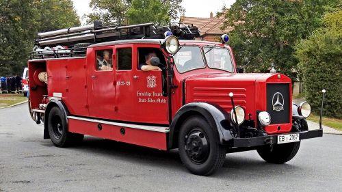fire truck fire historically