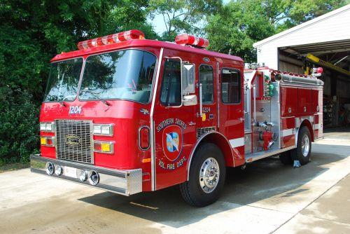fire truck fire engine emergency