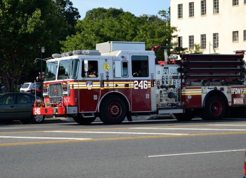 fire truck engine truck emergency