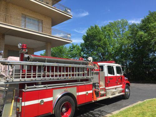 fire truck training building