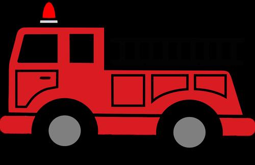 fire truck  hook and ladder  emergency