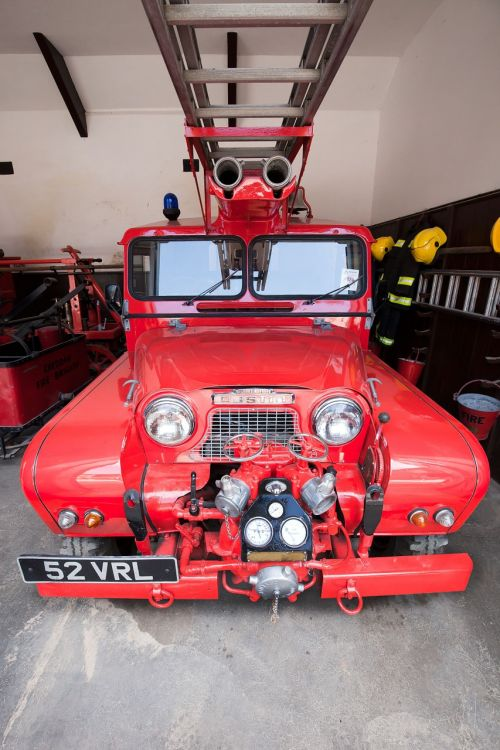 fire truck fire head