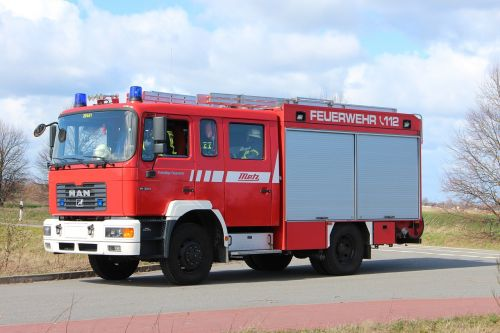 fire truck use fire fighting
