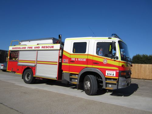 Fire Truck Or Fire Engine