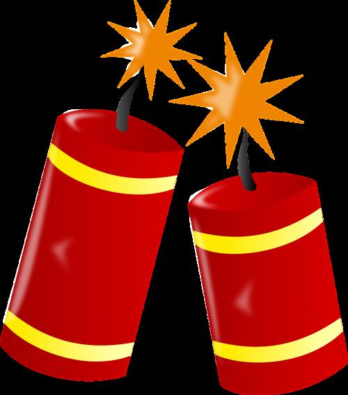 fire work dynamite burn