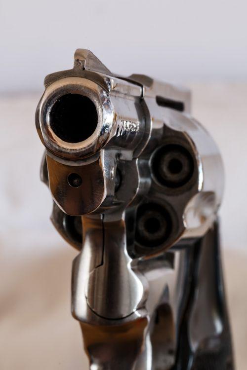 firearm handgun revolver