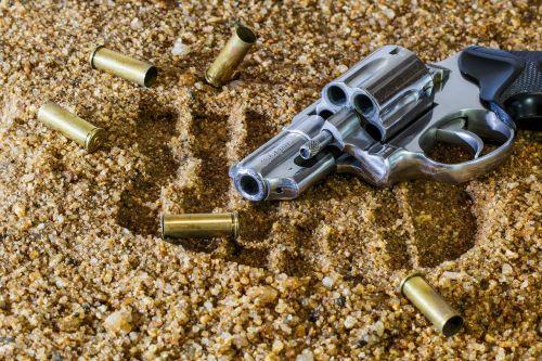 firearm revolver bullet