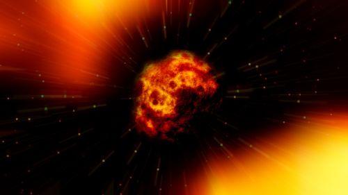 fireball asteroid explosion