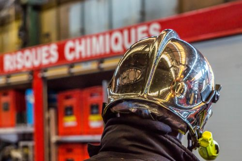 firefighter risks chemical