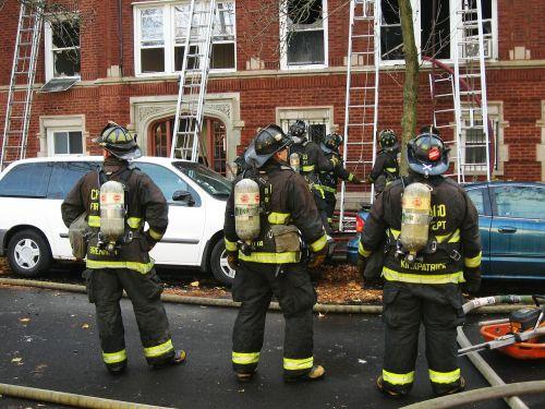 firefighters fireman emergency