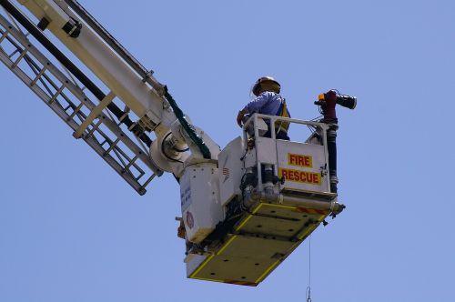 fireman fire rescue height