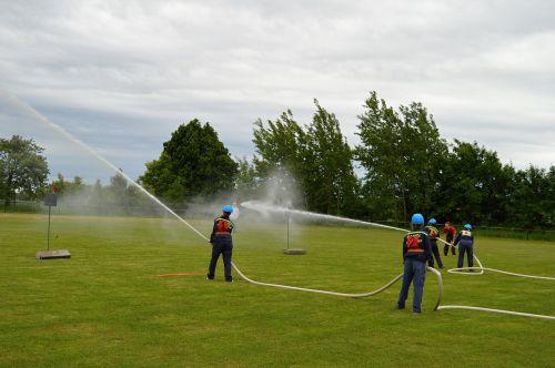 fireman run competition