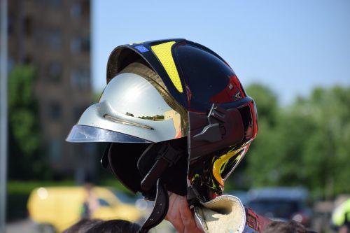 firemen helmet visor