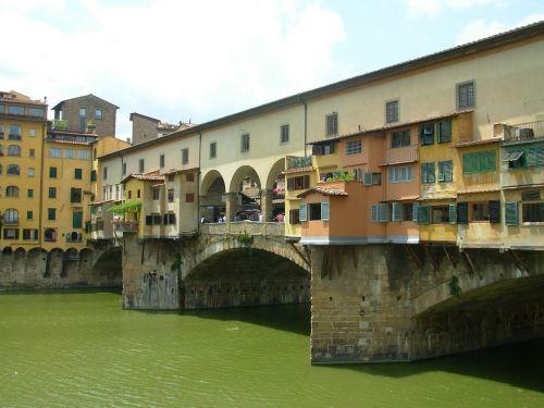firenze bridge river