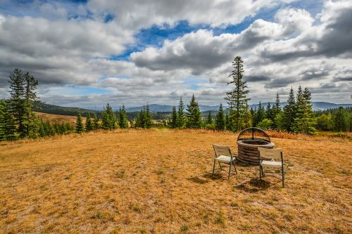 firepit countryside scenic