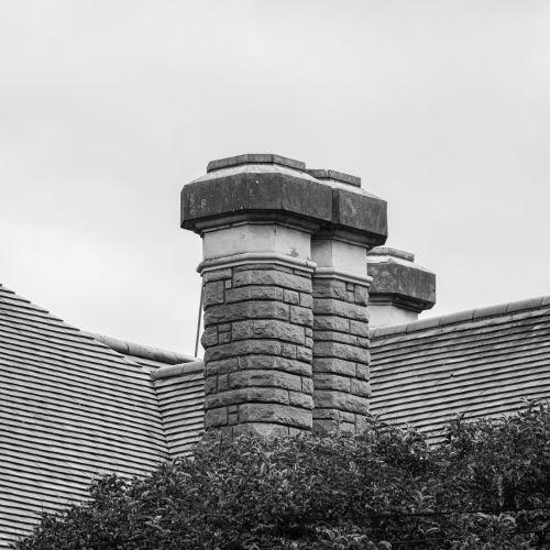 fireplace architecture stone