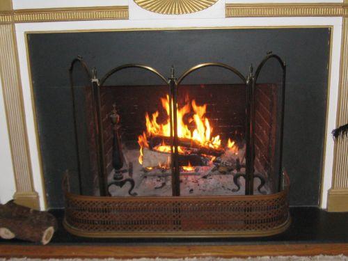 Fireplace Ablaze