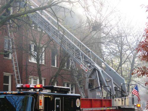 firetruck ladder emergency