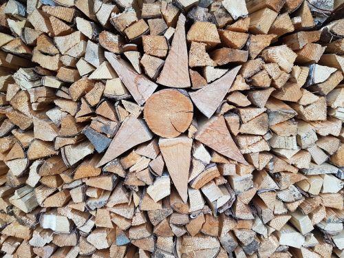 firewood log holzstapel