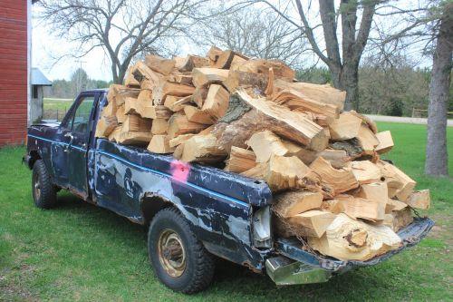firewood wood overload