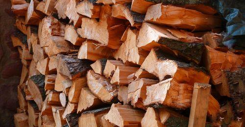 firewood wood fireplace