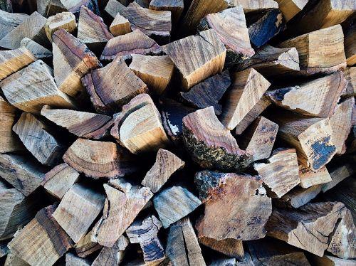 firewood split cut