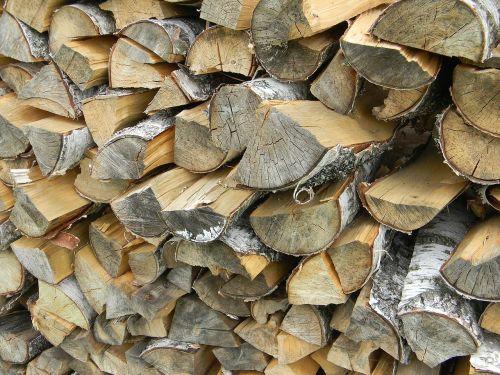 firewood dacha wood