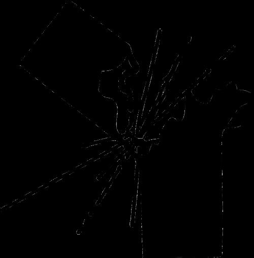 firework fire cracker silhouette