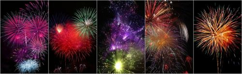 firework collage collage fireworks