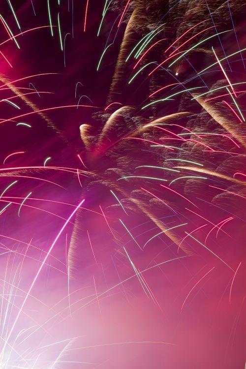 fireworks festivity colorful