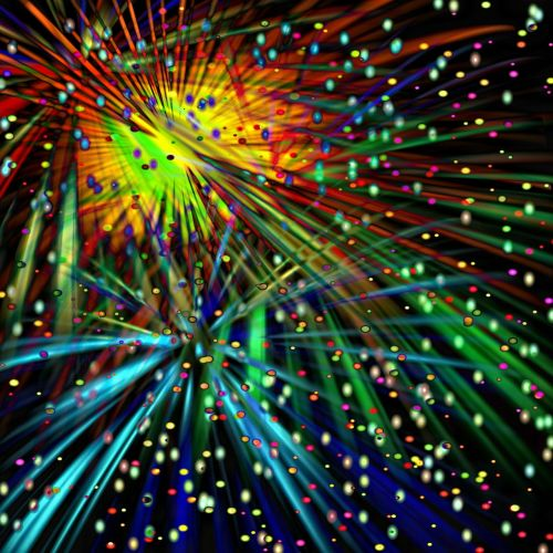 fireworks sylvester new year's day