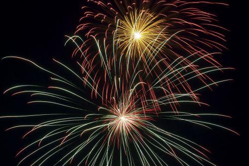fireworks explosion celebration