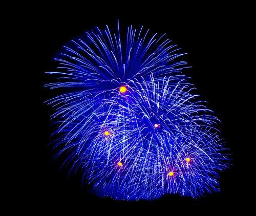 fireworks night family celebration
