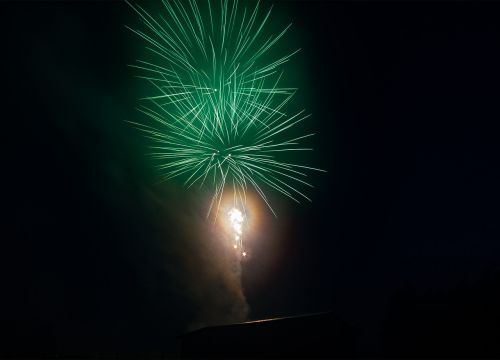 fireworks night pyrotechnics
