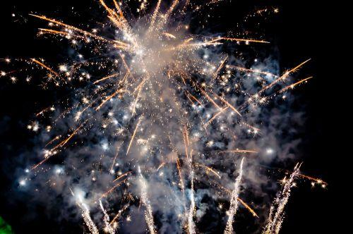 fireworks night sparklers