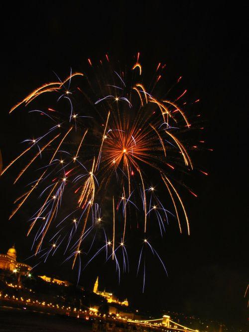 fireworks holiday light