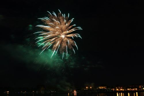 fireworks color illuminated