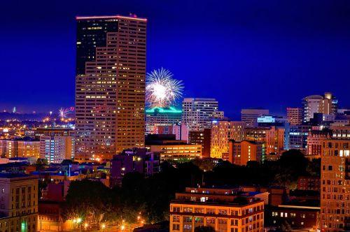 fireworks portland oregon