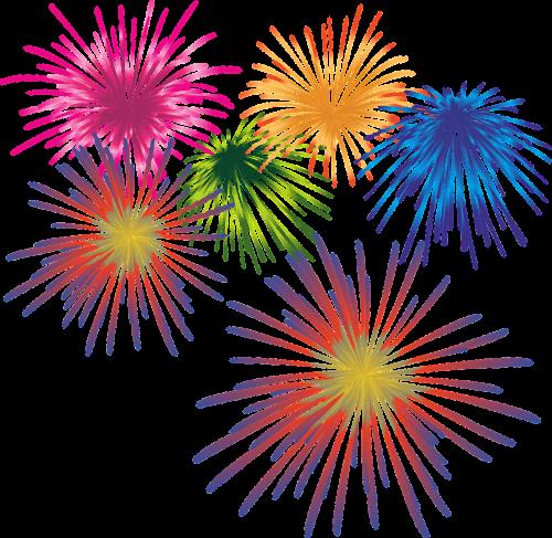 fireworks new year's eve sparkler