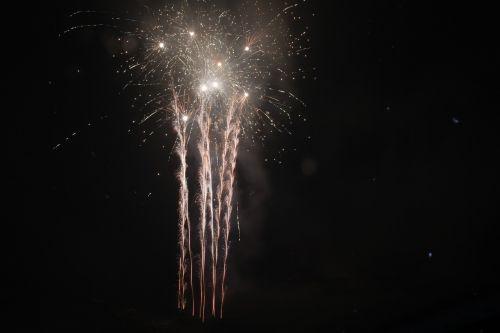 fireworks night burst