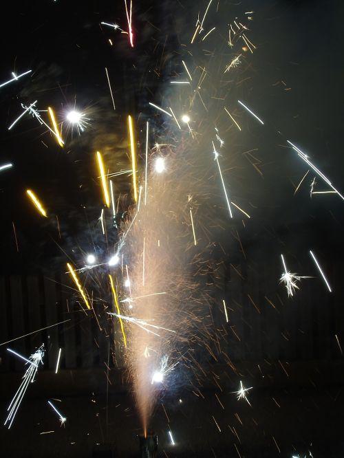 fireworks pyrotechnics sylvester