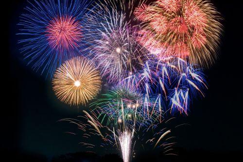 fireworks sea tradition