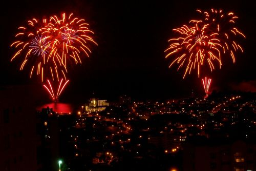 fireworks firecrackers lights