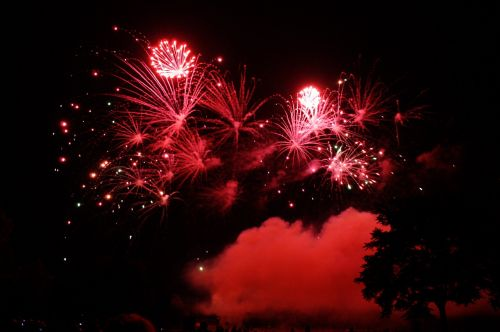 fireworks pyrotechnics night