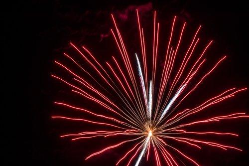 fireworks  pyrotechnics  light