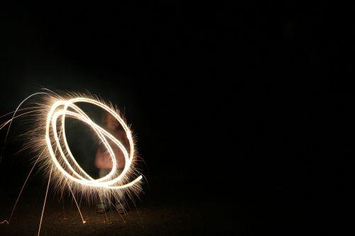fireworks bengali fire match