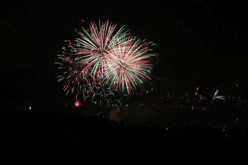 fireworks night light