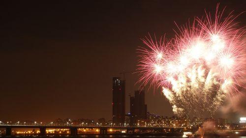 fireworks night view festival